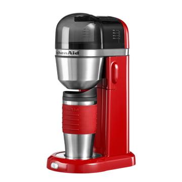 "KitchenAid - Kaffeemaschine ""To Go"", empire rot"
