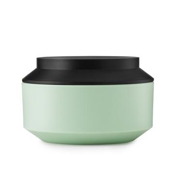 Normann Copenhagen - Geo Jar Vorratsdose, mint / black Ø 15 cm