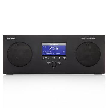 Tivoli Audio - Music System 3, schwarz