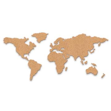 Luckies - Corkboard Map Pinnwand