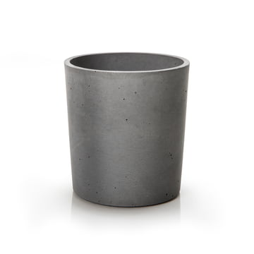 urbanature - spicepot 13, betongrau