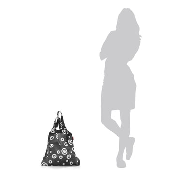 Der reisenthel - mini maxi shoppe in bubbles anthracite