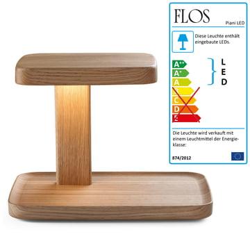 Flos - Piani Big Tischleuchte, wood