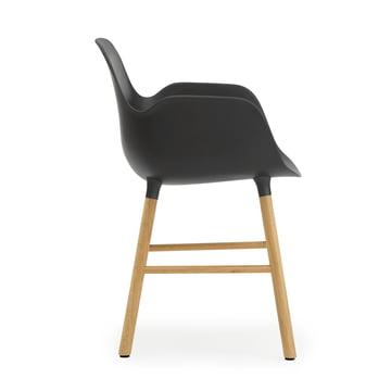 Form Armchair von Normann Copenhagen aus Eiche in Schwarz