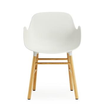 Form Armchair von Normann Copenhagen aus Eiche in Weiß