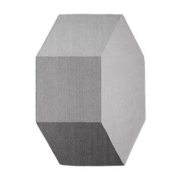 Der Willenz Volume Teppich medium in stone von Menu