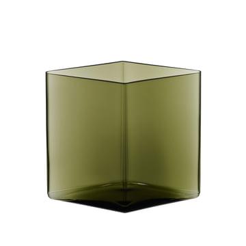 Iittala - Ruutu Vase 205 x 180 mm, moosgrün