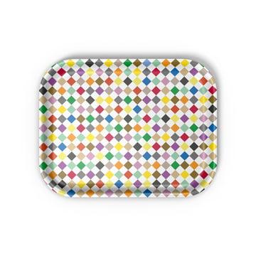 Vitra - Classic Tray medium, Diamonds multicolour