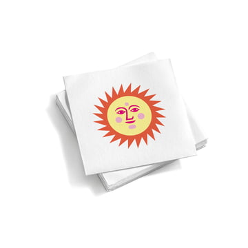 Paper Napkins La Fonda Sun Light Yellow Orange von Vitra