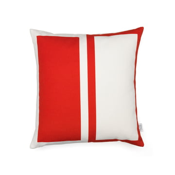 Graphic Print Pillow Rectangles / Circle 40 x 40 cm von Vitra in Rot