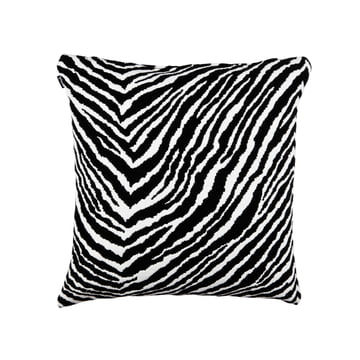 Artek - Zebra Kissenbezug, gewebte Wolle, 50 x 50 cm, schwarz / weiß