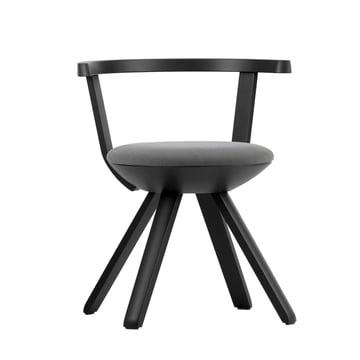 Artek - KG001 Rival Stuhl, schwarz, schwarz / weiß