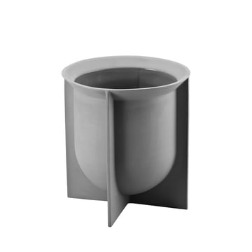 Rosenthal - Domo Vase 19 cm, steingrau