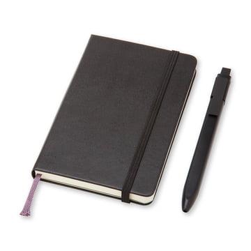 Moleskine - Set mit Notizbuch und Stift, Pocket