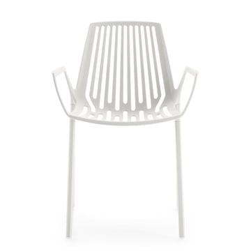 Fast - Rion Armlehnstuhl, weiß