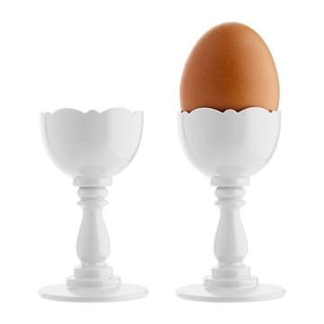 Alessi - Dressed Eierbecher, weiß