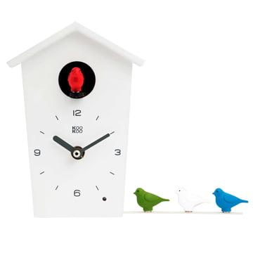 KooKoo - Bird House Mini, weiß