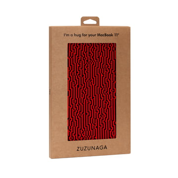Zuzunaga - MacBook Case 11'', rot, Verpackung