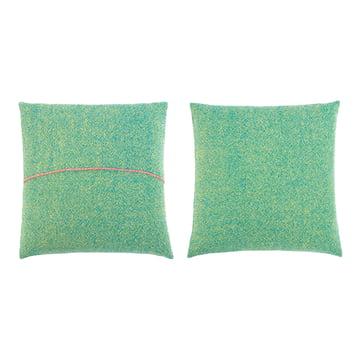 Zuzunaga - Kissen, grün 50 x 50 cm, Vorder- und Rückseite