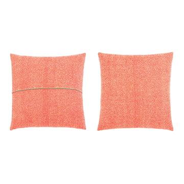 Zuzunaga - Kissen, Orange 50 x 50 cm, Vorder- und Rückseite