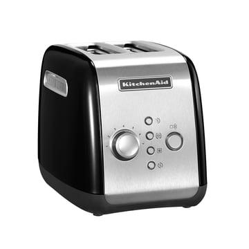 KitchenAid - Toaster KMT221, 2 Scheiben, onyx schwarz