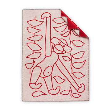 Kay Bojesen - Rückseite der Kinderdecke in rot