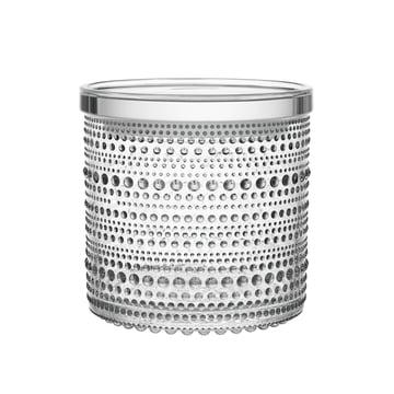Kastehelmi Vorratsdose 116 x 114 mm von Iittala aus klarem Glas