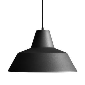 Made by Hand - Workshop Lamp W4 in anthrazitschwarz