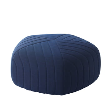 Muuto - Five Pouf, dark blue (Remix 773)