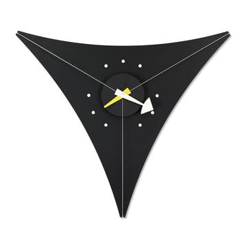Nelson Triangle Clock von Vitra in schwarz