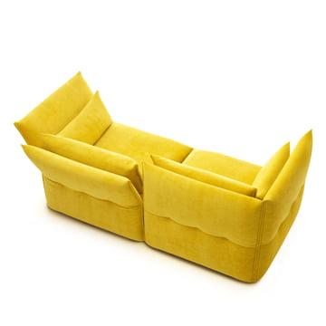 Mariposa Sofa 2-Sitzer von Vitra in gelb