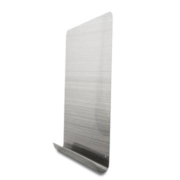Magnetbrett mit Ablage aus rostfreiem Stahl