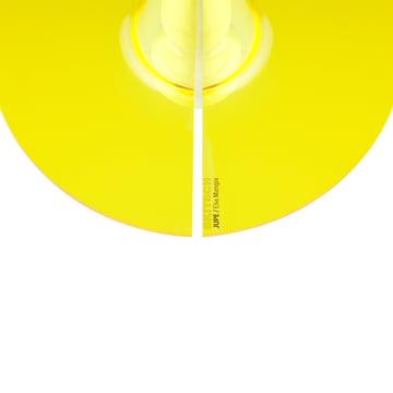 Jupe Pendelleuchte von Skitsch in Gelb flach