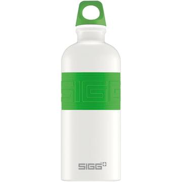 CYD Pure White Trinkflasche von Sigg in Grün