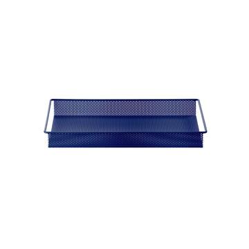 Metal Tray Small von ferm Living in Blau