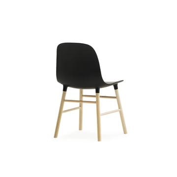 Form Chair Miniatur von Normann Copenhagen aus Eiche in Schwarz