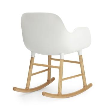 Form Rocking Armchair von Normann Copenhagen aus Eiche in Weiß