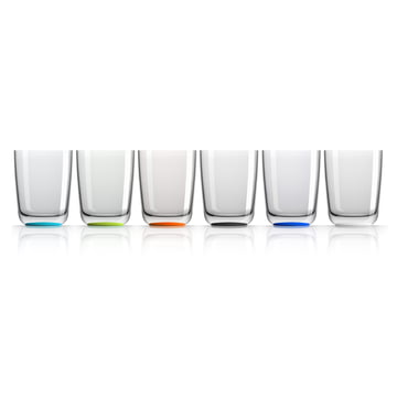 Longdrink-Glas 425 ml (4er-Set) von Palm Products