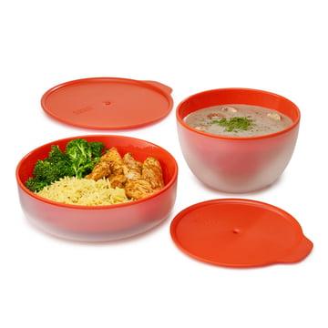 M-Cuisine Cool-touch Mikrowellen-Teller und -Schale von Joseph Joseph