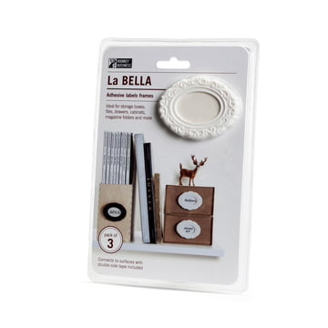La Bella selbstklebende Etiketten von Monkey Business