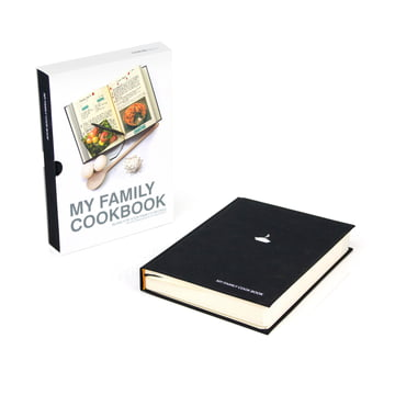 Suck Uk - My Family Cook Book, schwarz