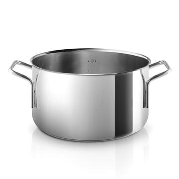 Stainless Steel Kochtopf mit einem Fassungsvermögen von 3.6 l von Eva Trio