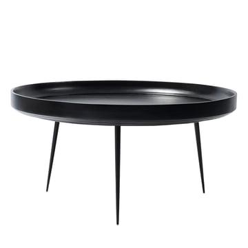 Bowl Table in XL von Mater aus Mangoholz in Schwarz