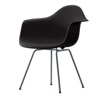 Vitra - Eames Plastic Armchair DAX in Basic Dark
