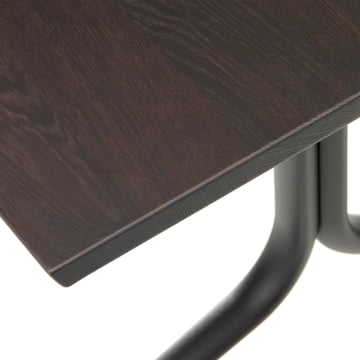 Detailansicht der Tischplatte des Belleville Esstisch Indoor, rechteckig, 200 x 80 cm von Vitra