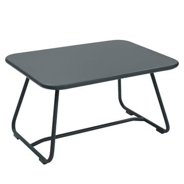 Sixties Tisch von Fermob in Gewittergrau