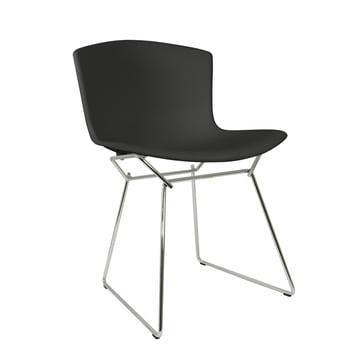 Knoll - Bertoia Kunststoff-Stuhl in Schwarz