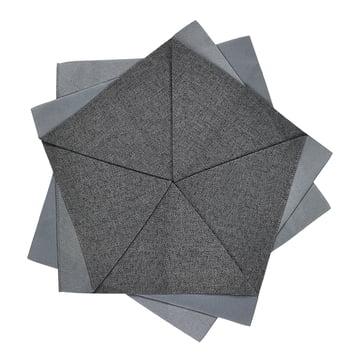 Iittala X Issey Miyake - Table Flower Ø 27 cm, dunkelgrau