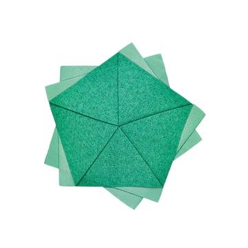 Iittala X Issey Miyake - Table Flower Ø 20 cm, smaragdgrün