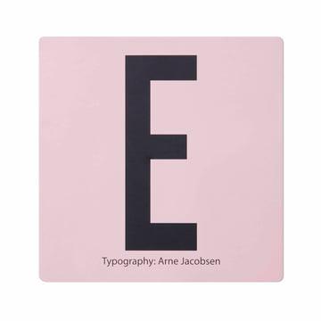 Design Letters - AJ Memory Spiel, Karte E